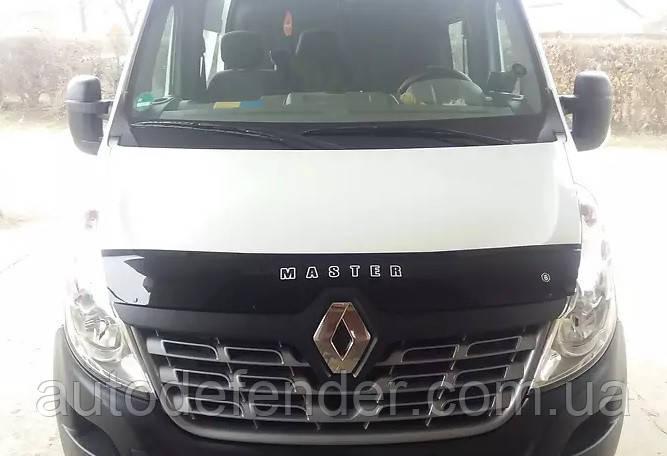 Дефлектор капоту (мухобійка) Renault Master II 2014-2018, Vip Tuning, RL38