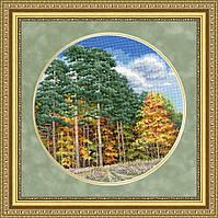 Набір для вишивки хрестом Золоте Руно ВМ-032 «Осінній ліс»