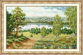 Набір для вишивки хрестом Золоте Руно ВМ-033 «Моя Росія»