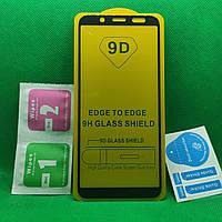 Samsung Galaxy J6 2018 \ J600 Full Glue Защитное стекло Черный