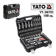 Професійний набір інструментів 108 эл. YATO YT-38791