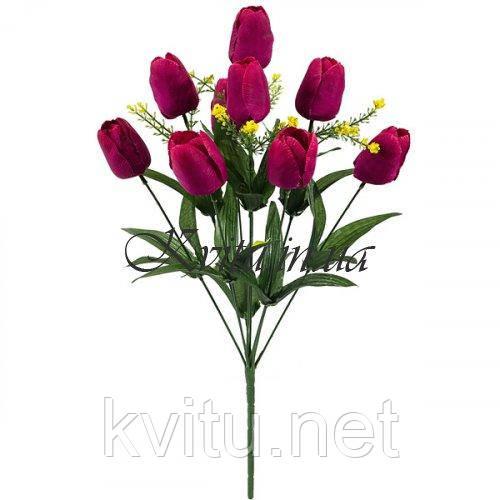 Букет искусственных тюльпанов 9-ка,51см
