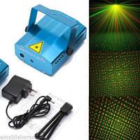 Лазерный мини-проектор для праздников Laser Lighting XX-027 (Точки)