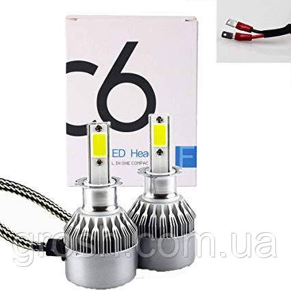 Лампа автомобильная C6 H3