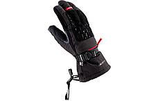 Гірськолижні рукавиці Viking Bora чорний-червоний   розмір - 8