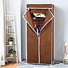 Шкаф органайзер тканевый HCX «8863 brown» Коричневый