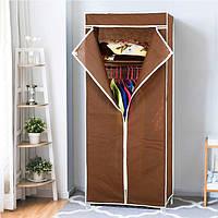 Шкаф органайзер тканевый HCX «8863 brown» Коричневый, фото 1