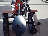 Картофелесажалка для мотоблока Ø280 мм оборотная (Малая) КС1, фото 7