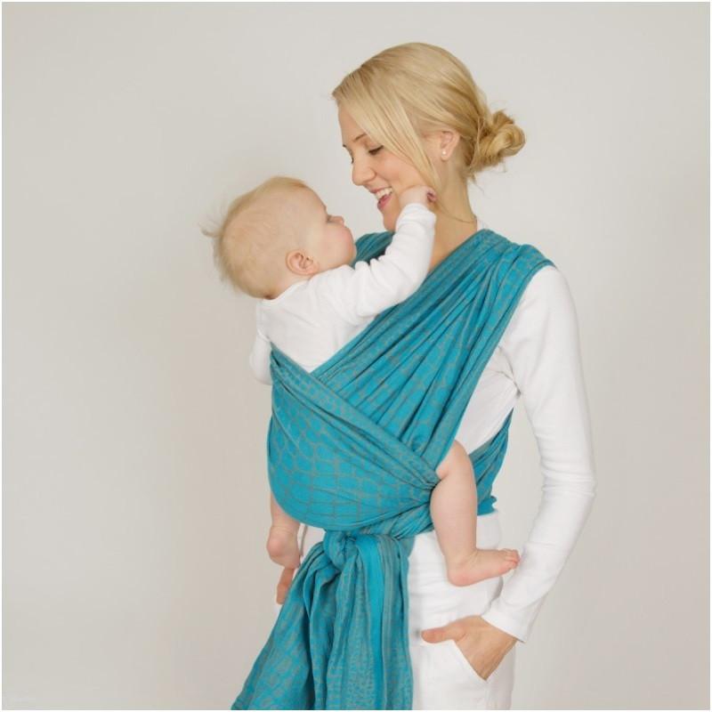 Слинг-шарф HOPPEDIZ Orlando — Limited Edition (50 % льна) (3,7 м)