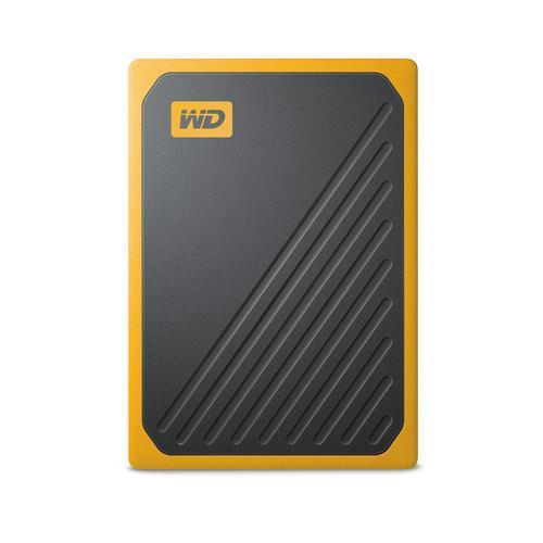 Портативный SSD USB 3.0 WD Passport Go 500GB Yellow
