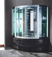 Гидромассажный бокс Golston G-U688 (с паром и г/м в ванне), 1500х1500х2230 мм.