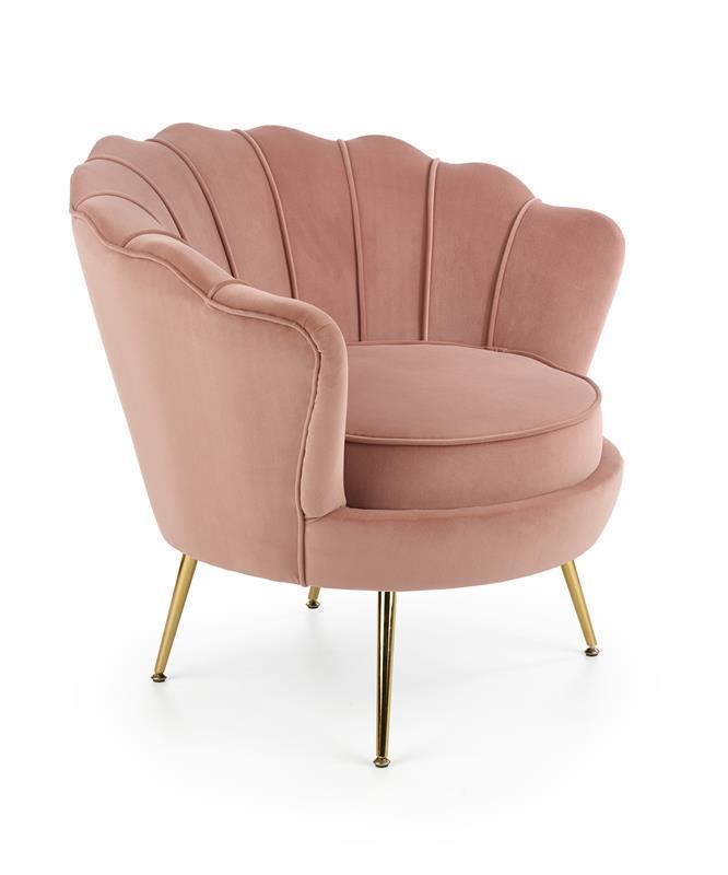 Крісло AMORINITO світло рожевий (Halmar)