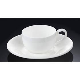 Чашка для кофе 100 мл WILMAX с блюдцем 993002 WIL