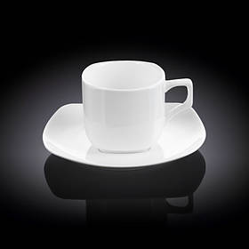 Чашка чайная 200 мл WILMAX с блюдцем 993003 WIL