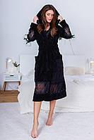 Женский стильный набор халат с сапожками, фото 1