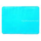 Силиконовый коврик для выпечки, антипригарный 37*27 (голубой), фото 2