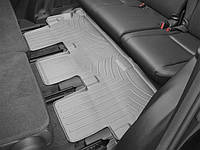 Ковры резиновые WeatherTech Toyota Highlander 14-19 третий ряд серые (для авто 2-й ряд с цельным сиденьем )