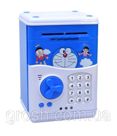 """Копилка электронная сейф """"CAT"""" - банкомат для денег, с пин-кодом"""