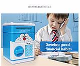 """Копилка электронная сейф """"CAT"""" - банкомат для денег, с пин-кодом, фото 5"""