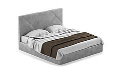 Двуспальная кровать Стори 180 х 200 с мягким изголовьем, двухспальная кровать, кровать, деревянная кровать, фото 2