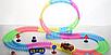 Dazzle Tracks 326 деталей, Гибкая игрушечная дорога, одна машинка с пультом дистанционного управления, фото 2