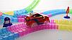 Dazzle Tracks 326 деталей, Гибкая игрушечная дорога, одна машинка с пультом дистанционного управления, фото 3