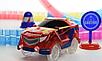 Dazzle Tracks 326 деталей, Гибкая игрушечная дорога, одна машинка с пультом дистанционного управления, фото 4