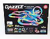 Dazzle Tracks 326 деталей, Гибкая игрушечная дорога, одна машинка с пультом дистанционного управления, фото 7