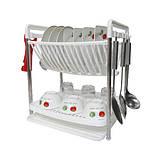 Сушилка для посуды Multifunctional dish rack, фото 7