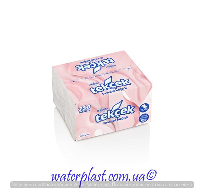 Туалетная бумага листовая 250 листов