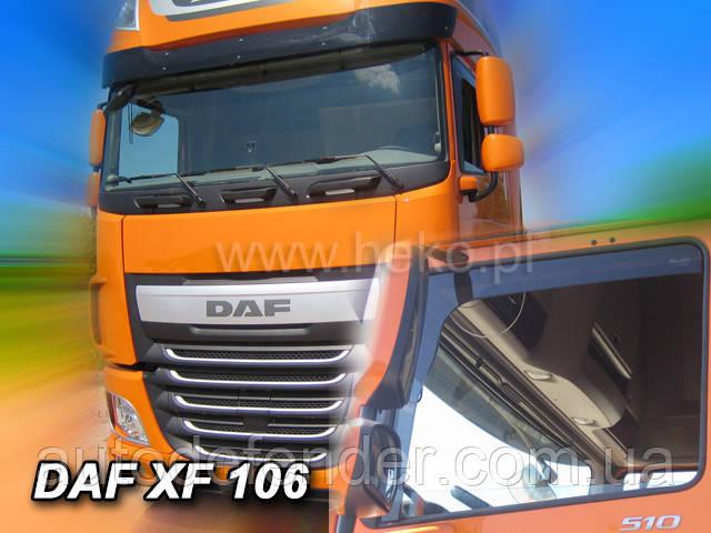 Дефлекторы окон (вставные!) ветровики DAF XF106 2013-, HEKO, 13153