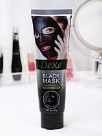 Черная маска для лица Dexe Black Mask Delux