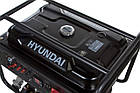 Генератор бензиновий Hyundai HY 12500LE, фото 3