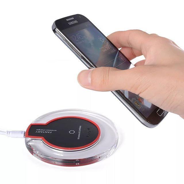 Беспроводное зарядное устройство Wireless Charger Fantasy с адаптером Аndroid