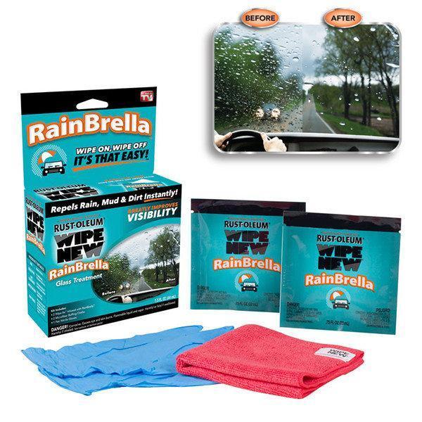 Защитная жидкость для стекла автомобиля RainBrella