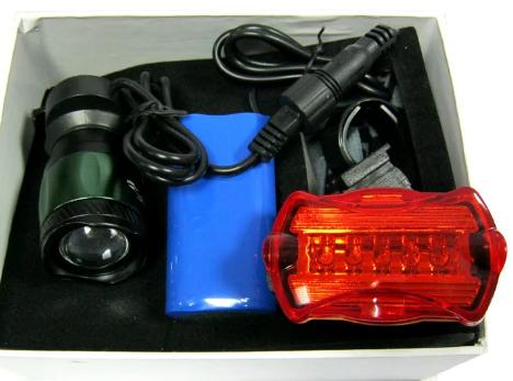 Фонарик для велосипеда аккумуляторный Bailong BL-B02B