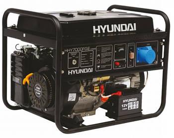Генератор Hyundai газ/бензин HHY 7020FGE