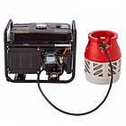 Генератор Hyundai газ/бензин HHY 7020FGE, фото 10