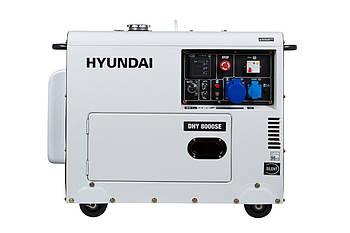Генератор Hyundai DHY 8000SE