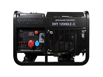 Генератор Hyundai DHY 12000LE-3