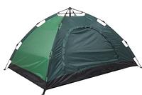 Палатка туристическая с автоматическим каркасом 6-ти местная, зеленая