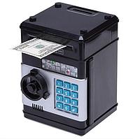 Копилка сейф с купюроприемником , мини сейф Number Bank
