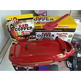 Инновационная электросковорода Red Copper 5 minuts chef PLUS электрическая скороварка для вторых блюд, фото 5