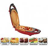 Инновационная электросковорода Red Copper 5 minuts chef PLUS электрическая скороварка для вторых блюд, фото 6