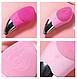 Электрическая силиконовая щетка-массажер для чистки лица Sonic Facial Brush, фото 7