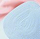 Электрическая силиконовая щетка-массажер для чистки лица Sonic Facial Brush, фото 9