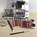 Подарочный набор декоративной косметики Kylie, серебро, фото 3