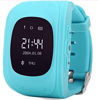 Детские умные часы Smart Baby Watch Q50 с GPS синие