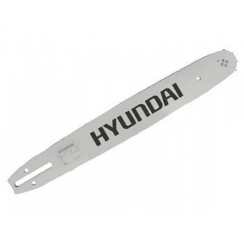 """Шина бензопилы длина 400 мм, шаг цепи 3/8"""",ширина паза 1,3 мм, количество звеньев цепи 56 шт Hyundai HYX380-95"""