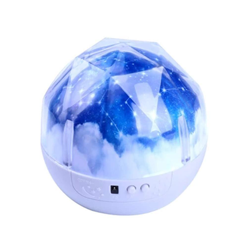 Светодиодный ночник проектор Magic Diamond Projection Lamp № 2290